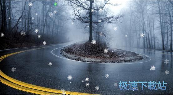 千里码屏幕下雪 图片 01s