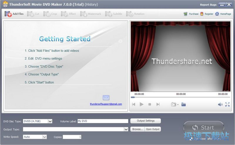 ThunderSoft Movie DVD Maker图片