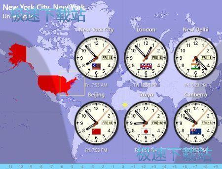 Sharp World Clock 图片 01s