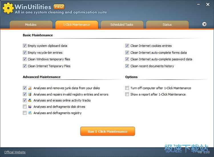 WinUtilities Free Edition 缩略图 02
