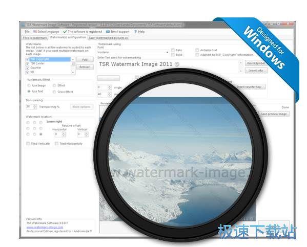tsr watermark image图片