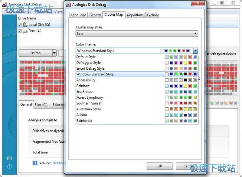 auslogics disk defrag图片