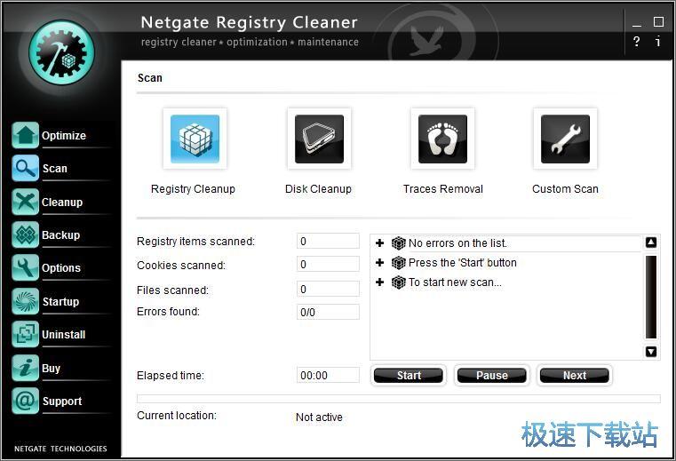 NETGATE Registry Cleaner 图片 01s