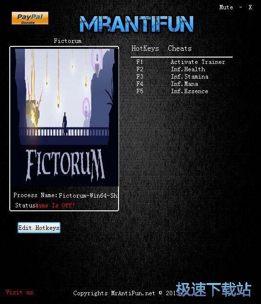 Fictorum修改器+4 图片