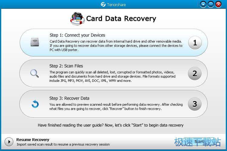Tenorshare Card Data Recovery图片