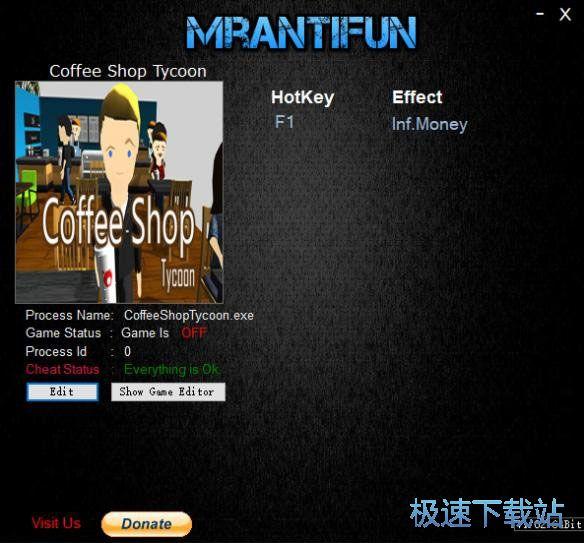咖啡店大亨修改器 图片 01