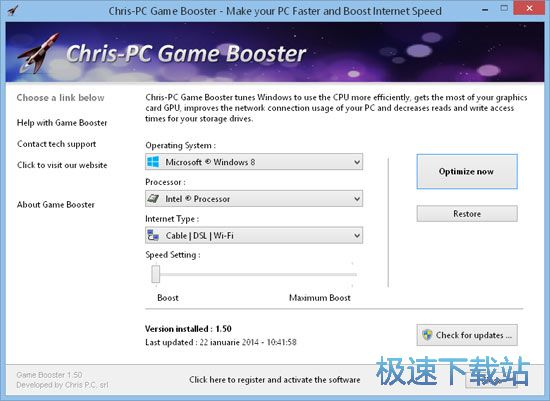 Chris-PC Game Booster 图片 01s