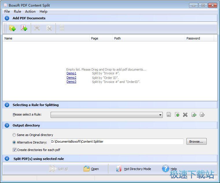 Boxoft PDF Content Split图片