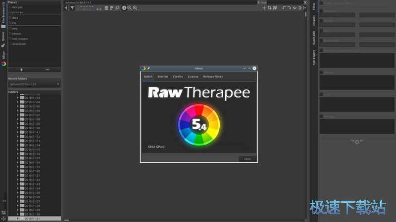 RawTherapee 图片 01s