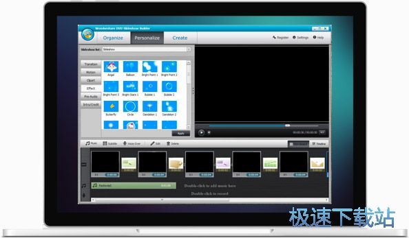 Wondershare DVD Slideshow Builder Deluxe 缩略图 03