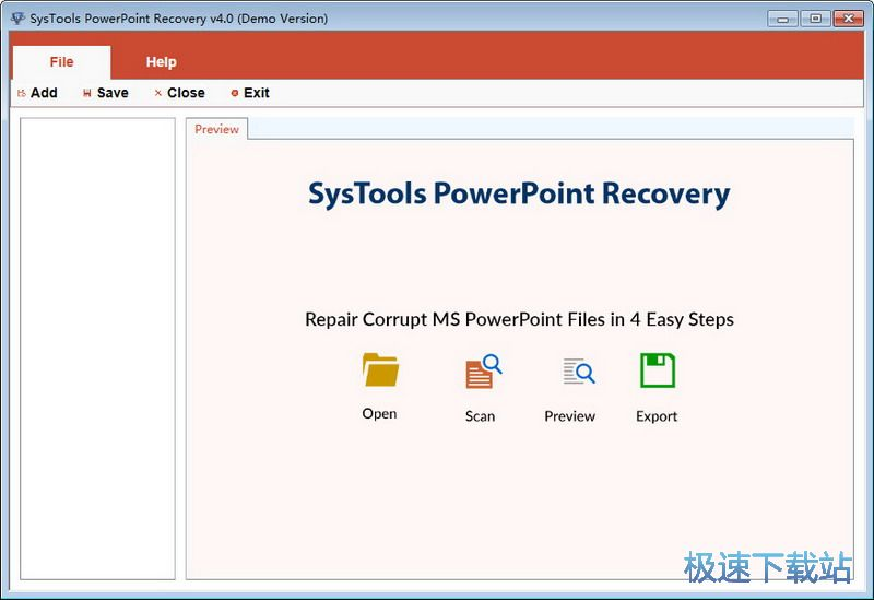 SysTools PowerPoint Recovery�D片