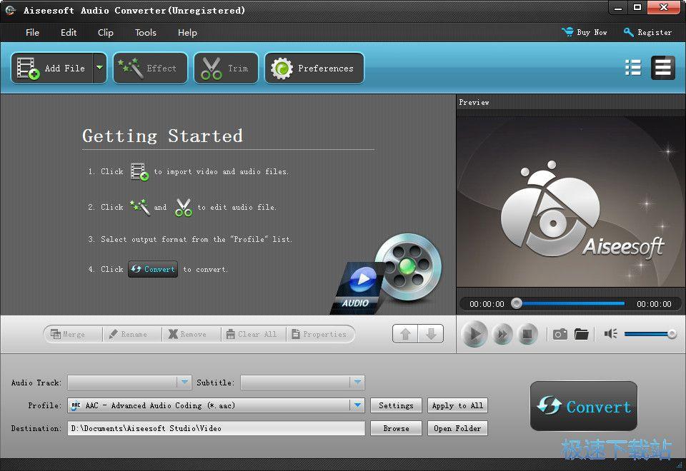 Aiseesoft Audio Converter 图片 01s