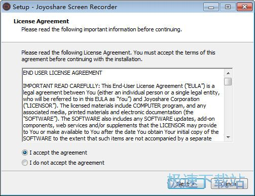 Joyoshare Screen Recorder 图片 02s