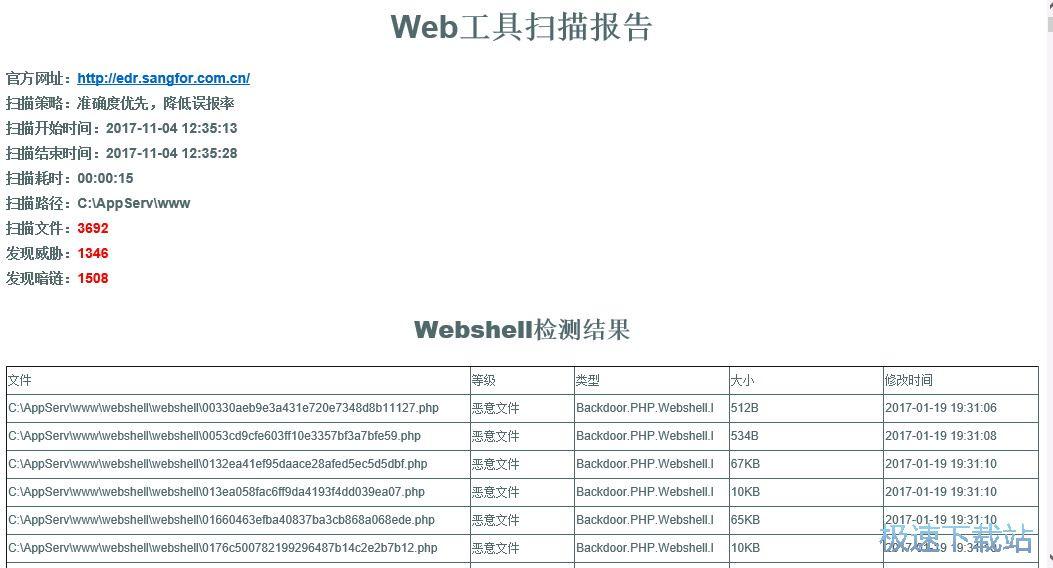 sangfor webshellkill