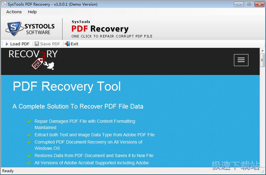SysTools PDF Recovery 图片 01s