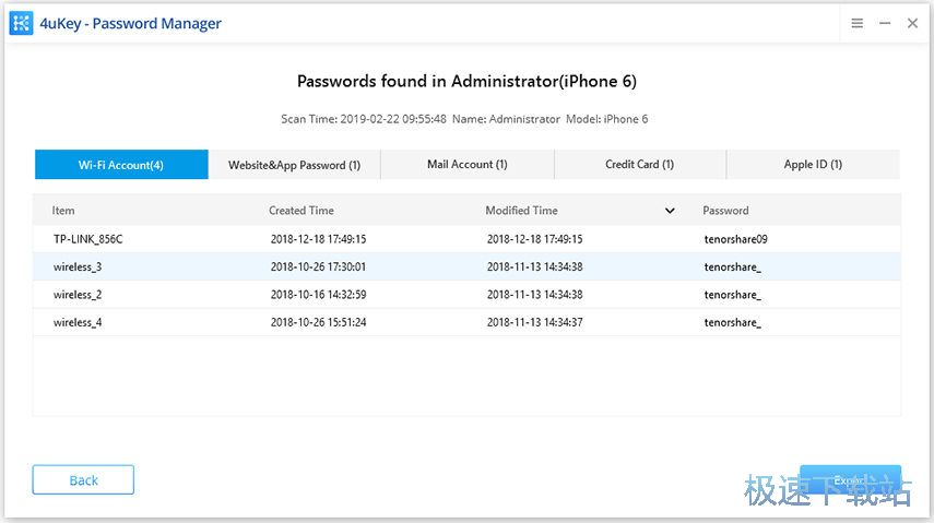 4ukey password manager