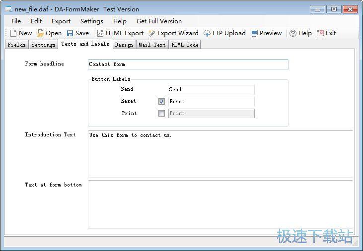 html表单制作软件下载