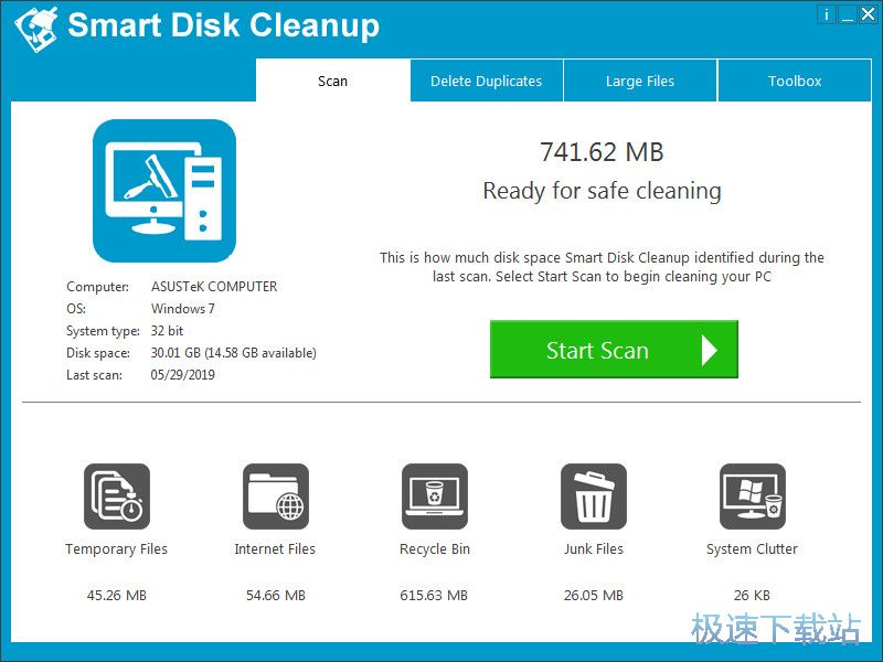 Smart Disk Cleanup 图片 01s