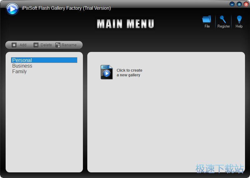 iPixSoft Flash Gallery Factory 图片 02s