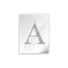 CAD钢筋字体