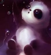 Apofiss水彩熊猫电脑桌面主题