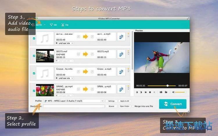 4video mp3 converter