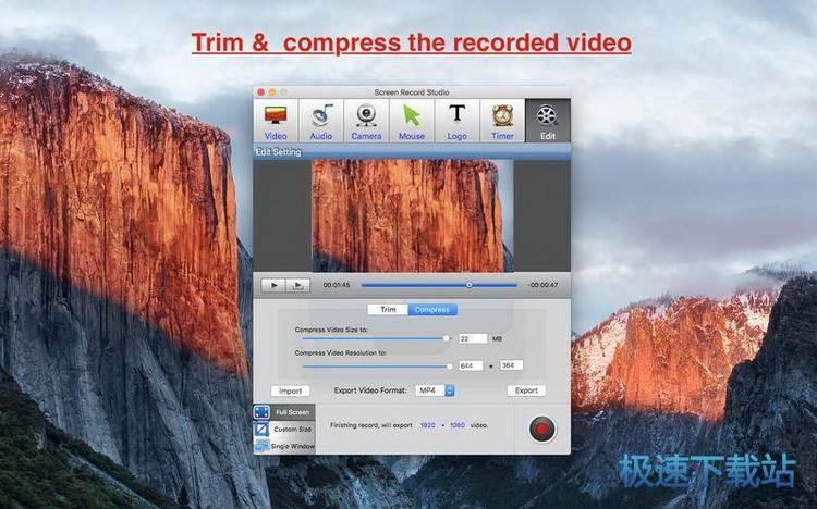 mac专业的桌面视频软件