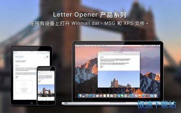 letter opener  mac