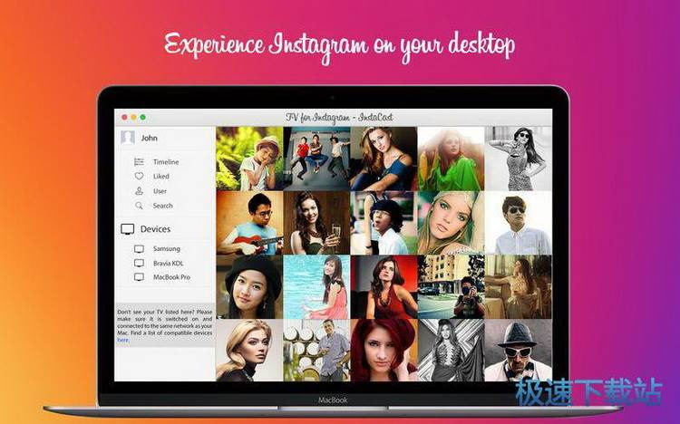 tv for instagram mac