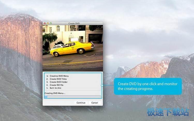 一键dvd制作工具mac版
