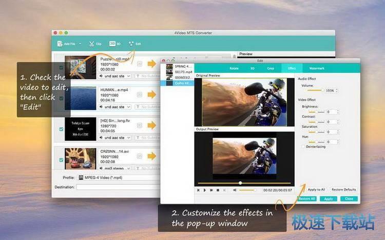 4video mts converter mac