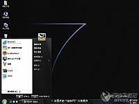 Windows7黑色�A��桌面主�}【�S奇主�}】