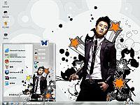 潘玮柏超级帅哥电脑桌面主题【灰色】